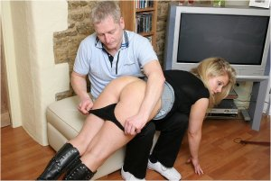 Spanked Cheeks - Spanked For Staying Out All Night - image 1
