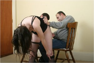 Spanked Cheeks - Double Spanking For Vicky - image 4