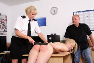 Spanked Cheeks - Shoplifter's Lesson - image 9